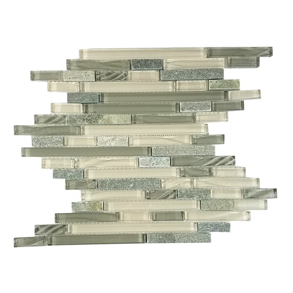 New Era II Random Sized GlassMosaic Tile by Abolos