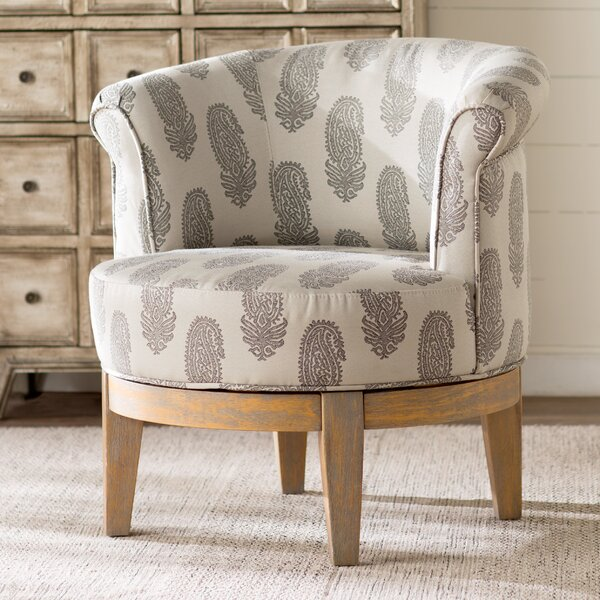 Haywood Swivel Barrel Chair by Laurel Foundry Modern Farmhouse Laurel Foundry Modern Farmhouse