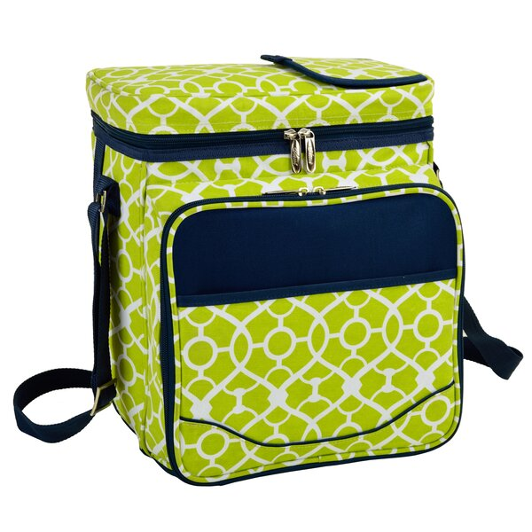 Trellis Picnic Cooler by Picnic at Ascot