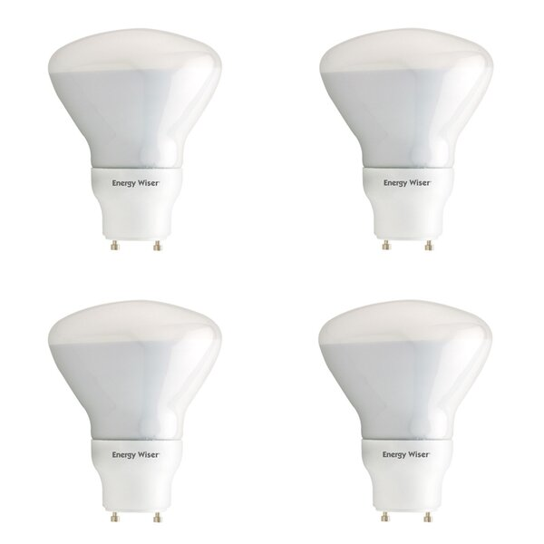 15W GU24 CFL Spotlight Light Bulb (Set of 4) by Bulbrite Industries