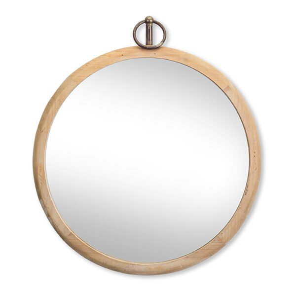 Walcott Wall Mirror 20 x 23.5H Wood/Glass by Gracie Oaks