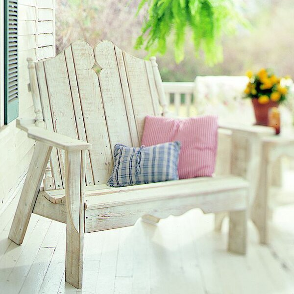 Nantucket Garden Bench by Uwharrie Chair