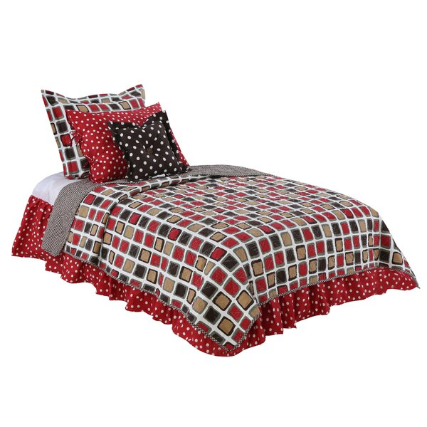 Statham Cotton Reversible Quilt Set by Harriet Bee