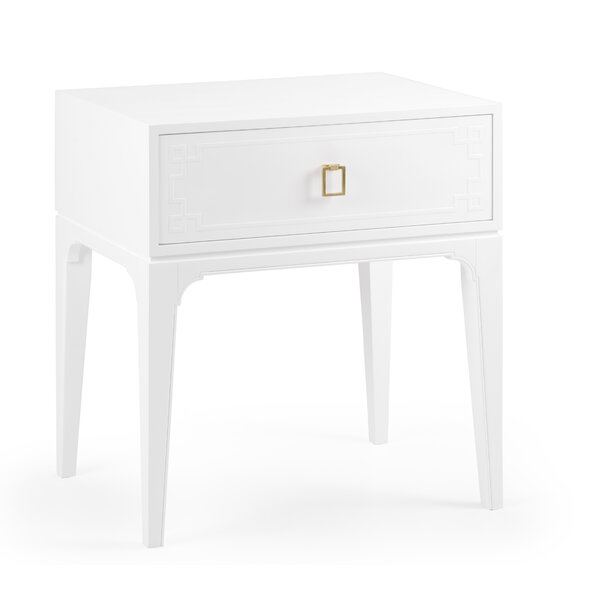 Greek Key 1 Drawer Nightstand by Wildwood