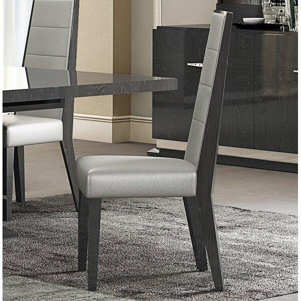 Izquierdo Upholstered Dining Chair (Set of 2) by Orren Ellis