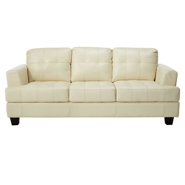 Ptolemy Three Seat Upholstered Sofa by Charlton Home