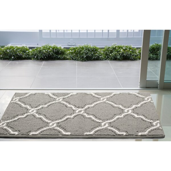 Yohan Gray/White Area Rug by Jean Pierre