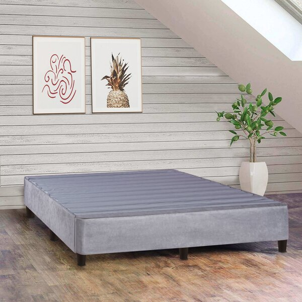 Tufted Upholstered Low Profile Standard Bed [Alwyn Home - ANEW1337]