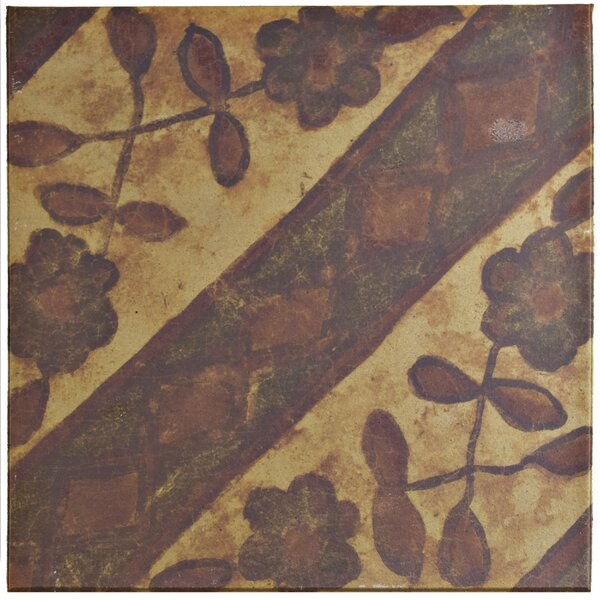 Shale 12.75 x 12.75 Ceramic Field Tile in Beige/Brown by EliteTile