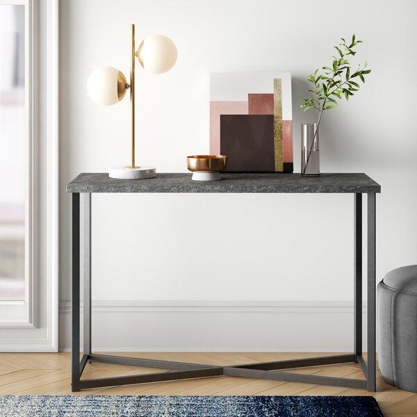 Buy Sale Price Annabelle Slate Faux Concrete Rectangular 44.1