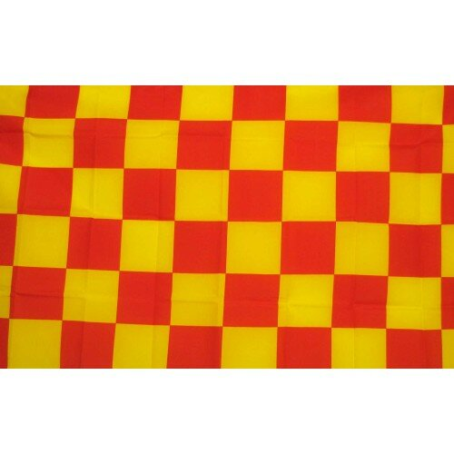 Checkered Polyester 3 x 5 ft. Flag by NeoPlex