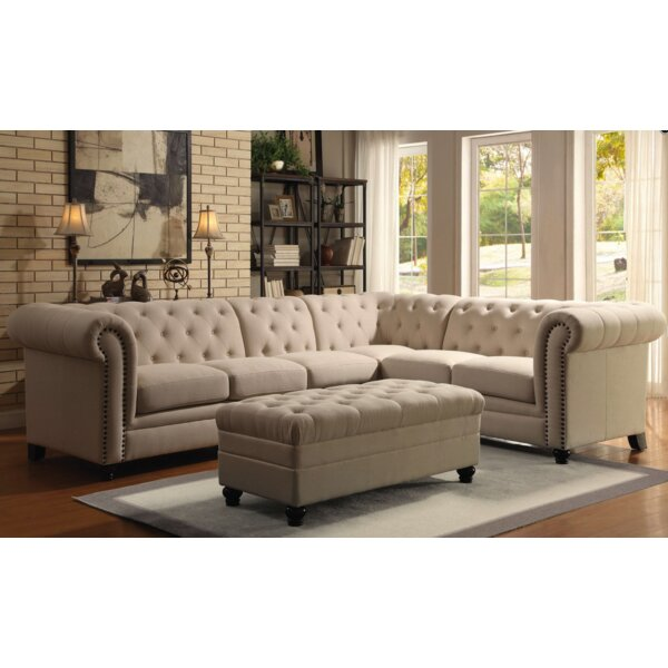 Claudelle 3 Piece Living Room Set by Darby Home Co