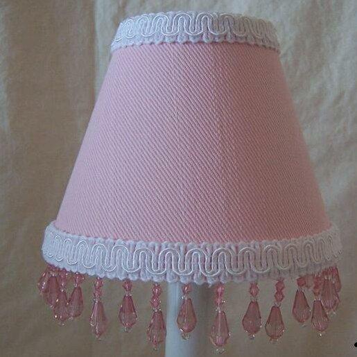 Fairy Sparkle 11 Fabric Empire Lamp Shade by Silly Bear Lighting