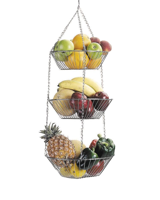 3 Tier Hanging Vegetable And Fruit Basket