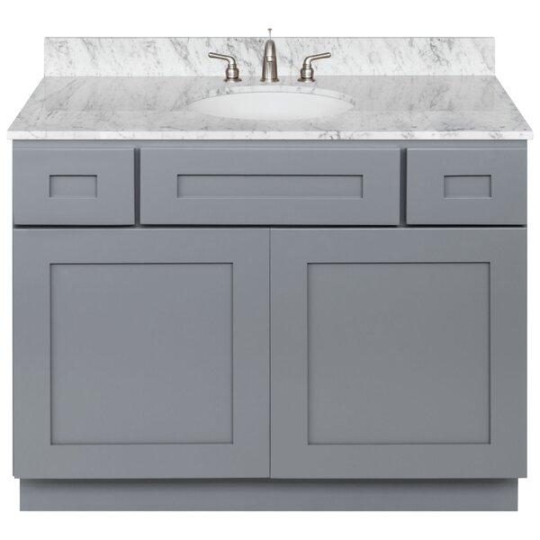 Stonge 42 Single Bathroom Vanity Set