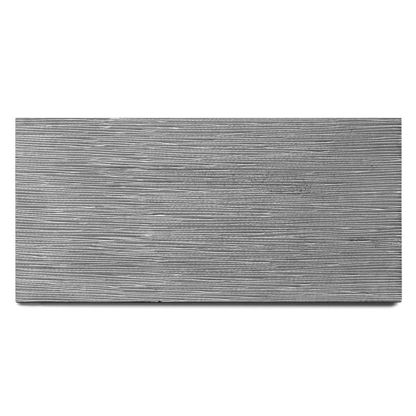 Basalt Engraved 15 x 30 Basalt Field Tile in Gray by Solistone