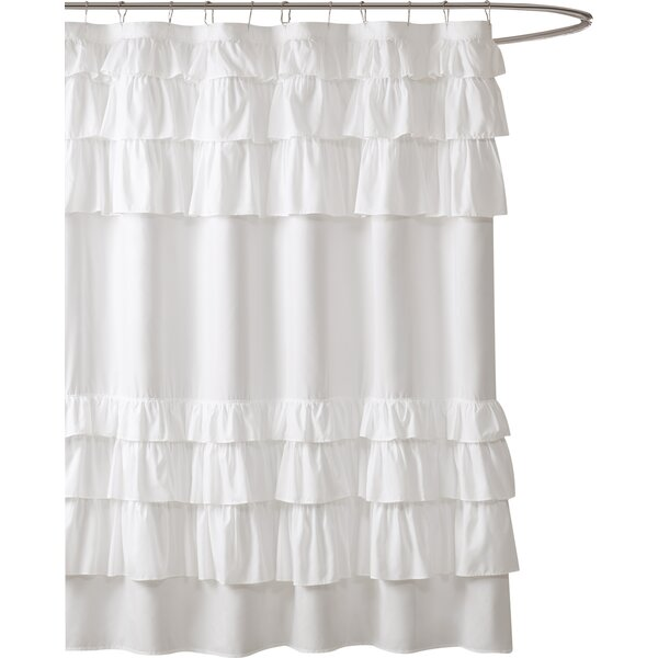 Leflore Microfiber Shower Curtain by Lark Manor