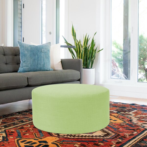 Fenham Round Pouf by Rosecliff Heights