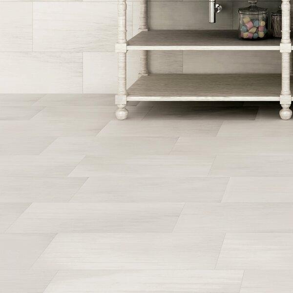 Latitude 12 x 24 Porcelain Field Tile in White by Emser Tile