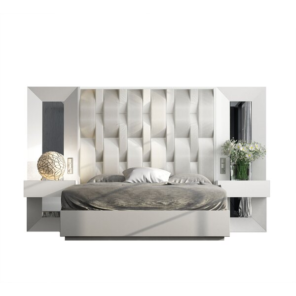 Jerri King 5 Piece Bedroom Set by Everly Quinn Everly Quinn