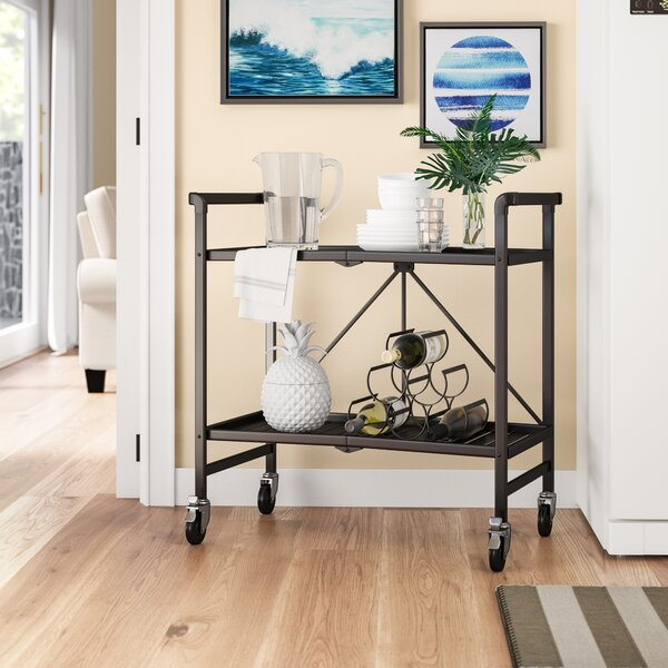 Hull Bar Cart by Beachcrest Home Beachcrest Home