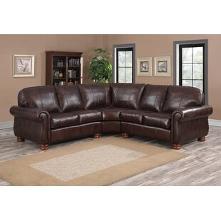 Beldale Leather Sectional