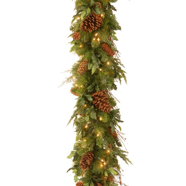 Decorative Juniper Mix Pine Garland by National Tree Co.