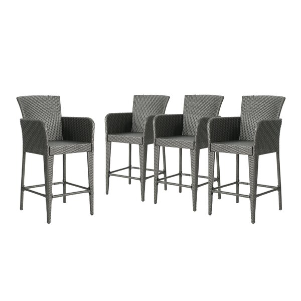 Seabrooks 28 Patio Bar Stool (Set of 4) by Ivy Bronx