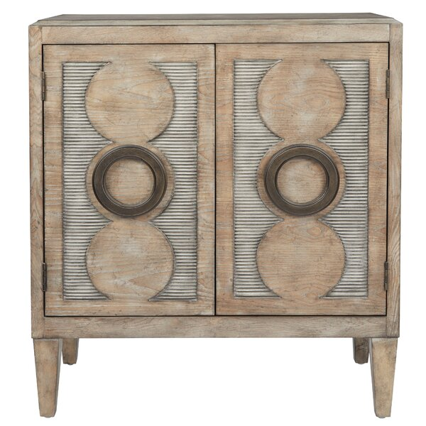 Meyerson 2 Door Accent Cabinet by Bungalow Rose Bungalow Rose
