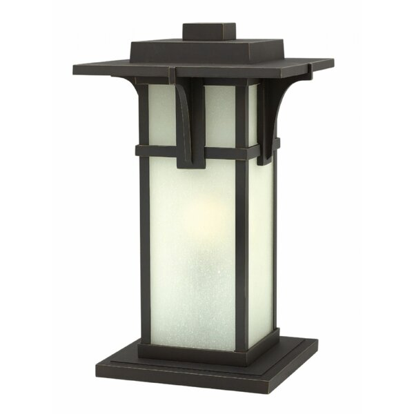Manhattan Outdoor 1-Light Pier Mount Light by Hinkley Lighting