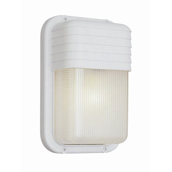 1-Light Outdoor Flush Mount by TransGlobe Lighting