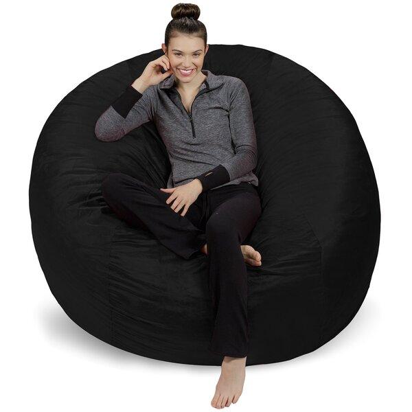 Large Bean Bag Chair & Lounger By Ebern Designs