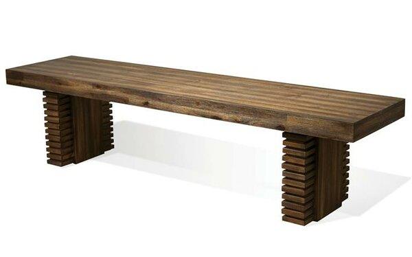 Corcoran Wood Bench By Loon Peak Best