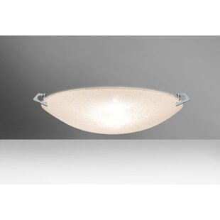 Savings Sonya 2-Light Outdoor Flush Mount By Besa Lighting