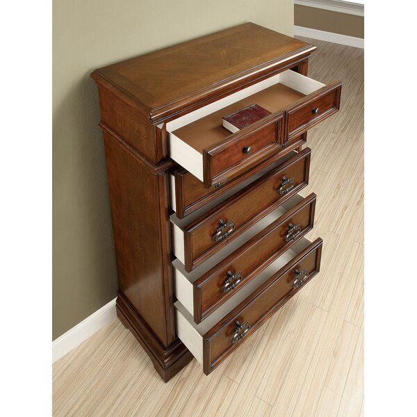Taraval 5 Drawers Chest by Astoria Grand