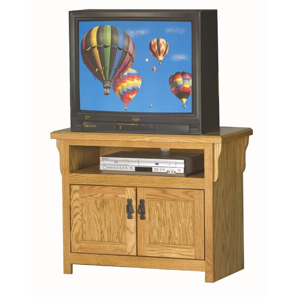Gus Solid Wood TV Stand For TVs Up To 55