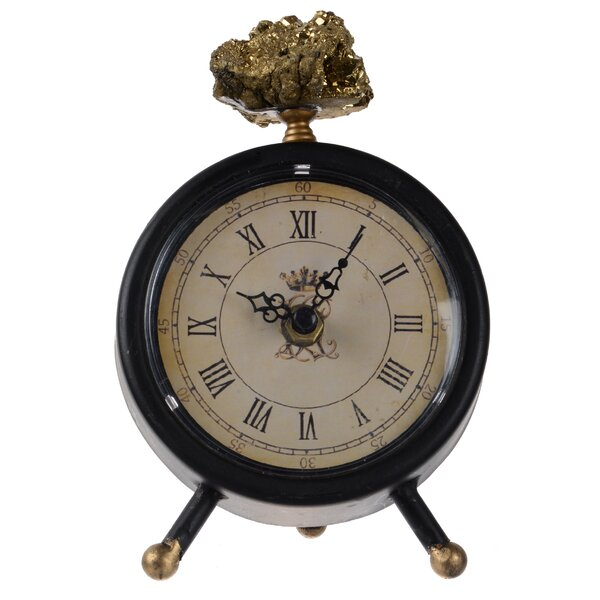 Tabletop Clock by Astoria Grand