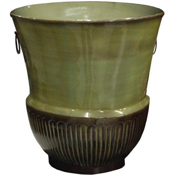 Croft Ironstone Pot Planter by Robert Allen Home and Garden