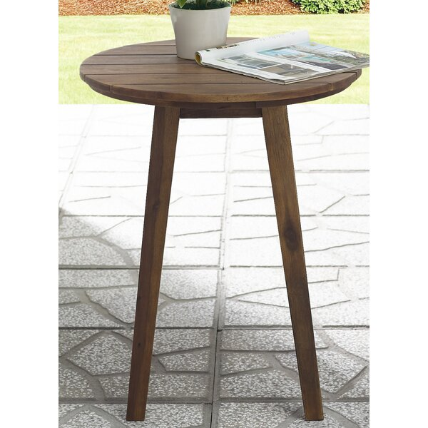 Scheffer Wooden Side Table by Union Rustic