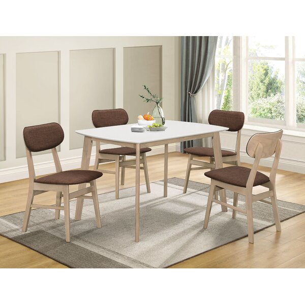 Iorio 5 Piece Dining Set by George Oliver