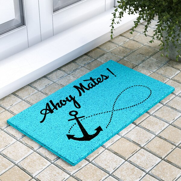 Ainsley Ahoy Mates Doormat by Beachcrest Home