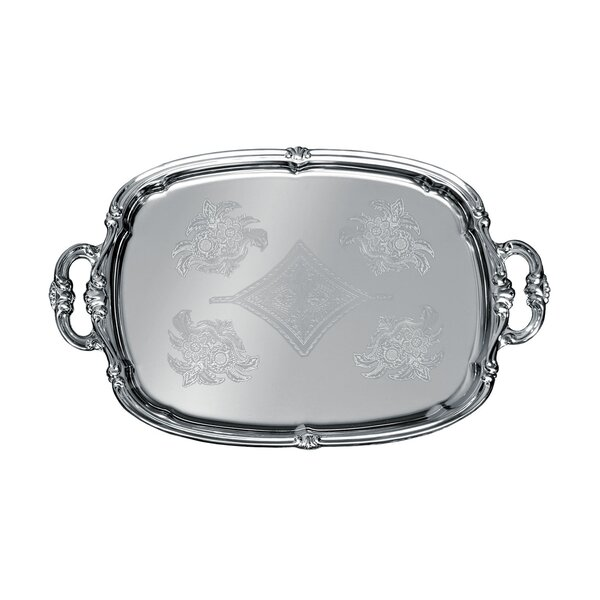Oblong Serving Tray with Handle by Update International