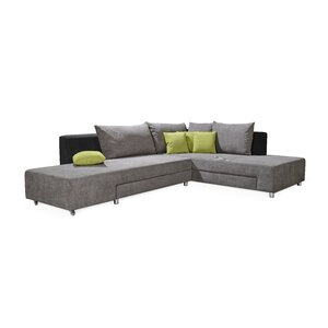 Ecksofa North Hero mit Bettfunktion von Home & H..