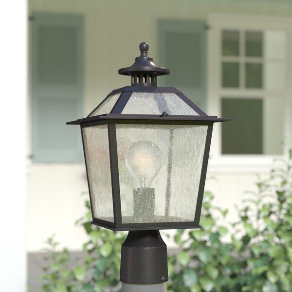 Bruggeman Outdoor 1-Light Lantern Head by Three Posts