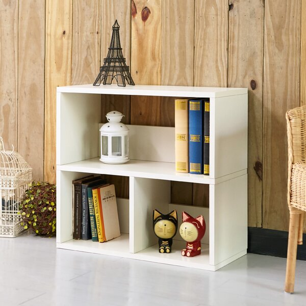 Stancil Standard Bookcase By Wrought Studio