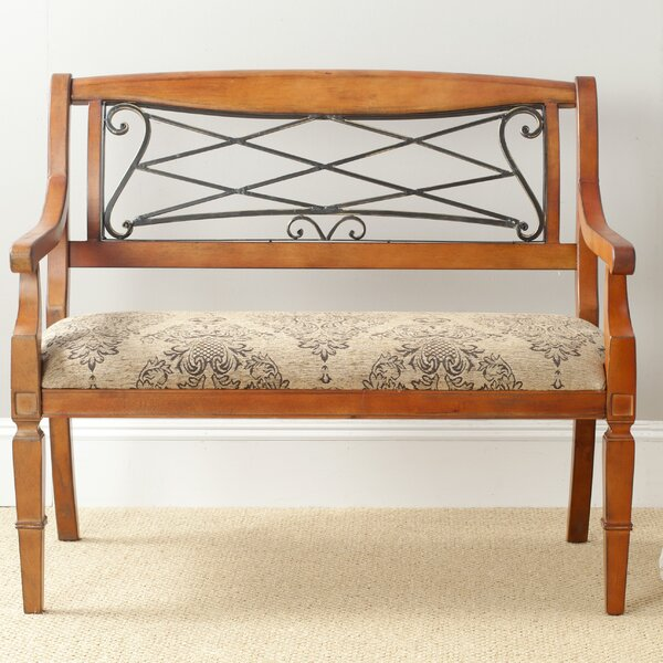 Grace Upholstered Bench by Safavieh