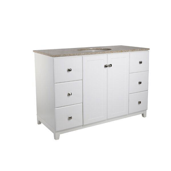 Rosalynn 2-Door 49 Single Bathroom Vanity by Ebern Designs