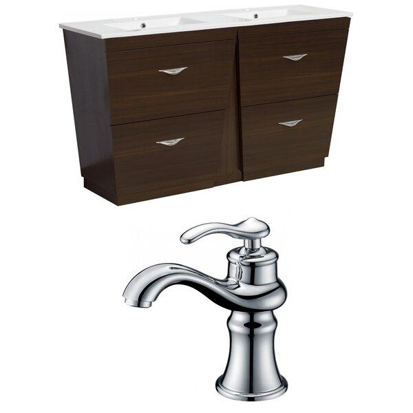Dudelange 48 Double Bathroom Vanity Set by Royal Purple Bath Kitchen