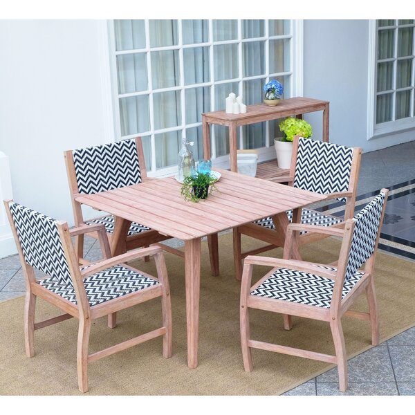 Abbey 5 Piece Dining Set by Cambridge Casual