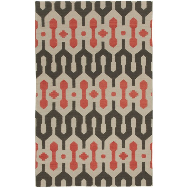 Spain Smoke/Apricot Area Rug by Genevieve Gorder Rugs